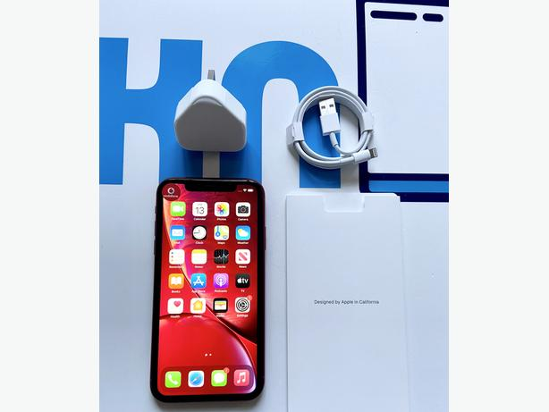 iPhone XR 64Gb locked to Vodafone VOXI Lebara Product Red Unboxed