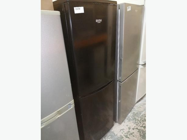 Bush fridge freezer with warranty at Recyk Appliances
