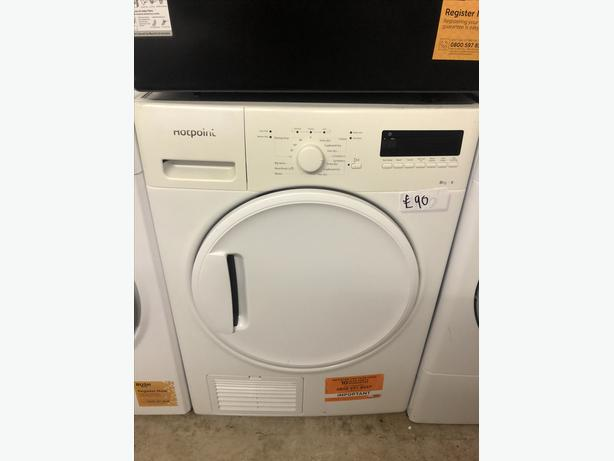 PLANET 🌏 APPLIANCE- 7KG NEW GRADED BUSH VENTED DRYER WITH GUARANTEE