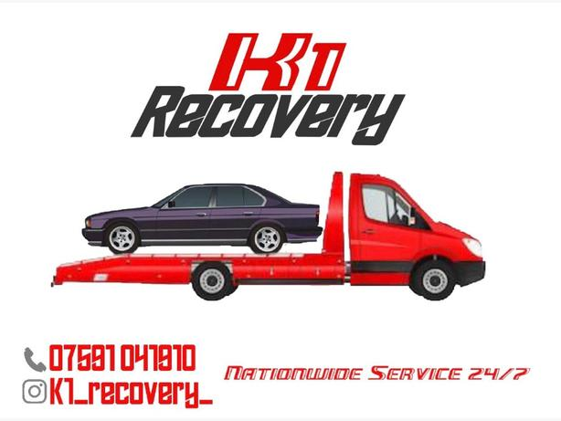 recovery service collection drops of delivery nation wide