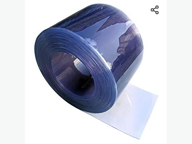 Clear PVC strip roll