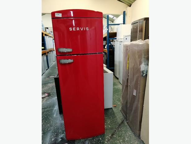 Servis Fridge freezer graded with warranty at Recyk Appliances