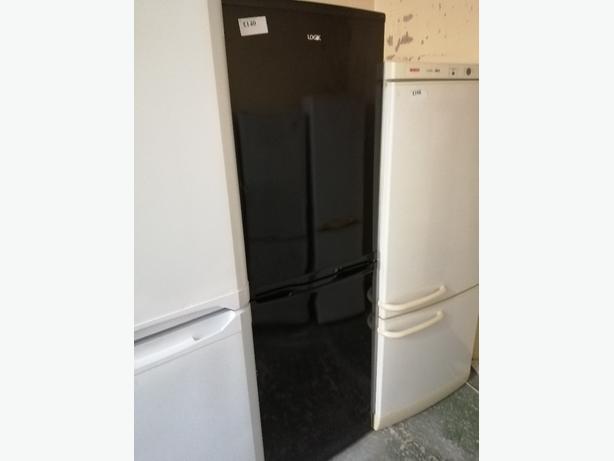 Logik Fridge freezer black at Recyk Appliances