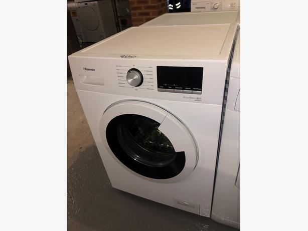 PLANET 🌍 APPLIANCE- HISENSE NEW GRADED WASHER /WASHING MACHINE WITH GUARANTEE