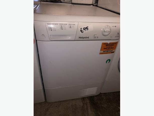 PLANET 🌍 APPLIANCE- 7KG HOTPOINT CONDENSER TUMBLE DRYER WITH GUARANTEE