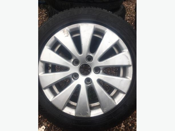 volkswagen passat bluemotion alloys and tyres