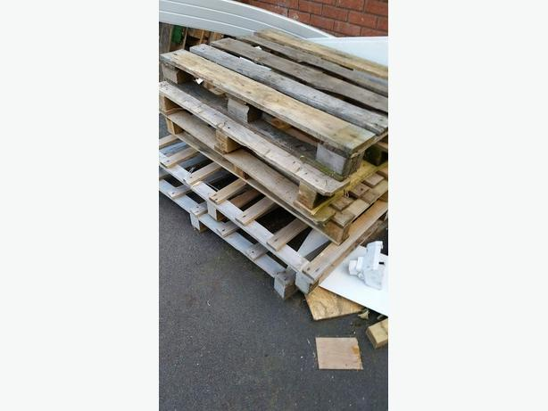FREE: Wooden pallets wanted **