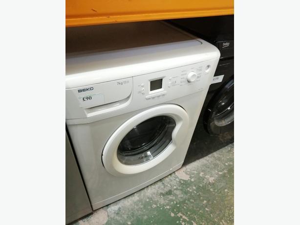 Beko 7kg A +A class washing machine at Recyk Appliances