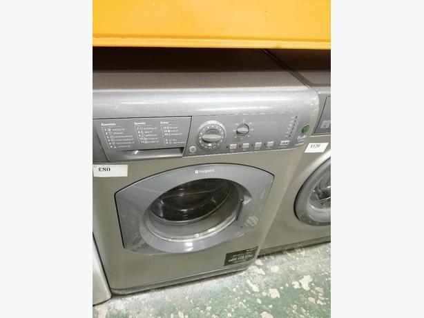 Hotpoint 6 kg A +washing machine with warranty at Recyk Appliances