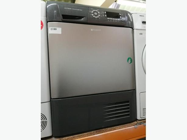 Hotpoint 7kg condenser dryer silver at Recyk Appliances