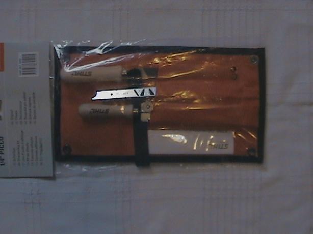 "stihl chainsaw 1/4""P sharpening/filing kit"