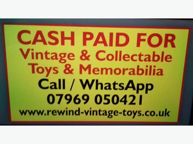 WANTED: vintage and collectors toys