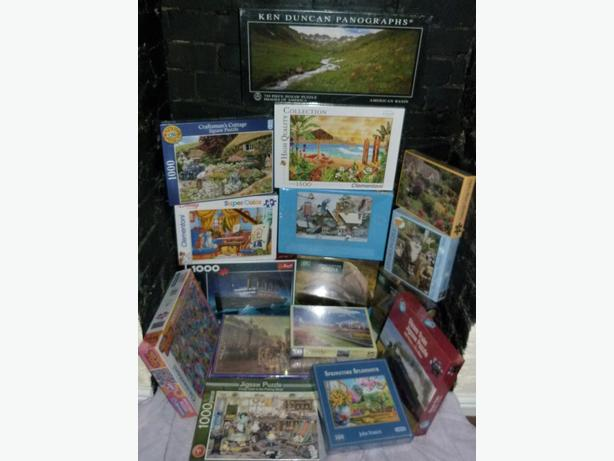 New Sealed Jigsaws Various Titles From £5 ea
