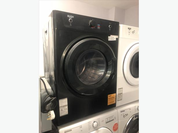 PLANET 🌍 APPLIANCE- 7KG BLACK VENTED DRYER WITH GUARANTEE