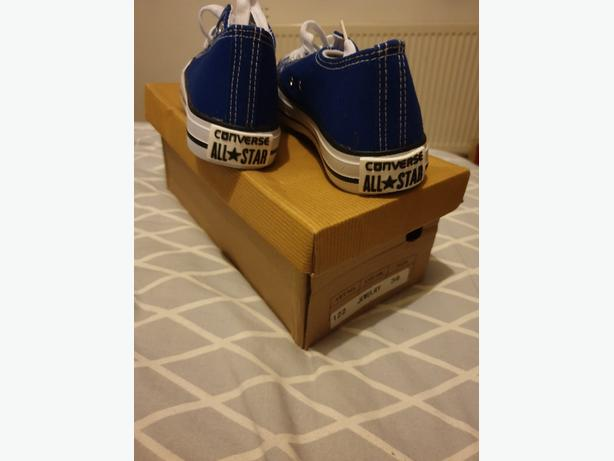 Blue converse size 3