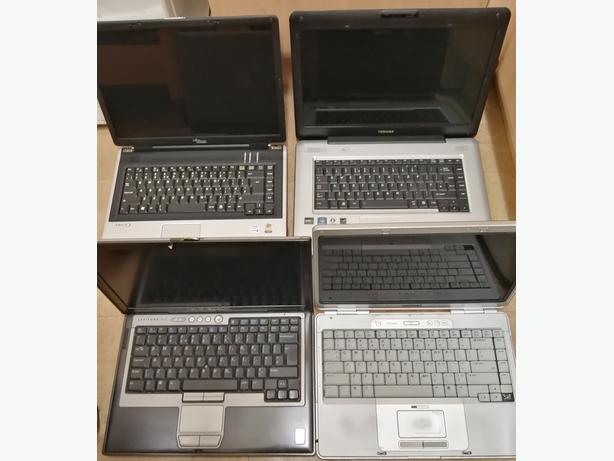 4 untested laptops. (spares or repair)