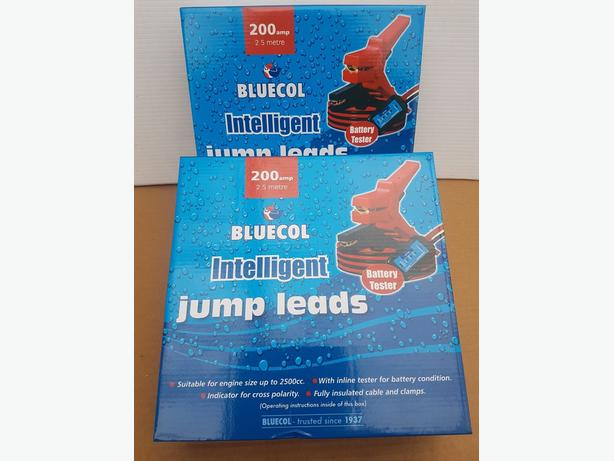 JUMP LEADS BRAND NEW IN THE BOX
