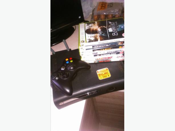 xbox 360 jasper elite 250gb wifi SELL or SWAP Ps3 or original xbox the old one.