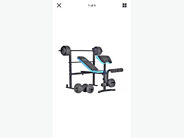 mens health weight bench and weights