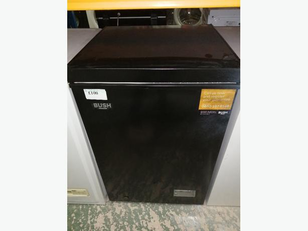 Recyk Appliances - Black chest freezers in stock with warranty