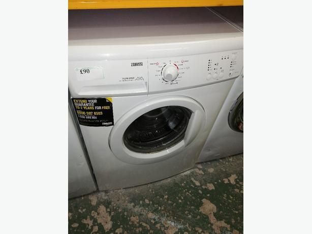Recyk Appliances - Zanussi 7kg washing machine with warranty