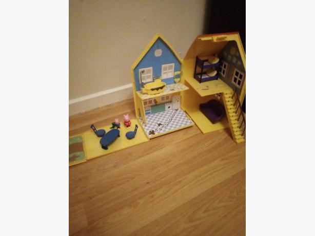 Peppa pig house set
