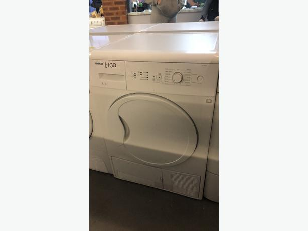 PLANET 🌏 APPLIANCE- 8KG LOAD BEKO CONDENSER TUMBLE DRYER WITH GUARANTEE