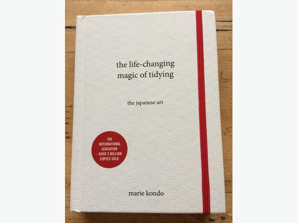 The life changing magic of tidying the japanese art Marie Kondo