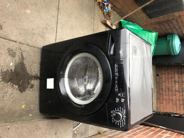 candy black washer 8kg
