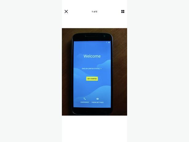 Moto g4 16gb unlock