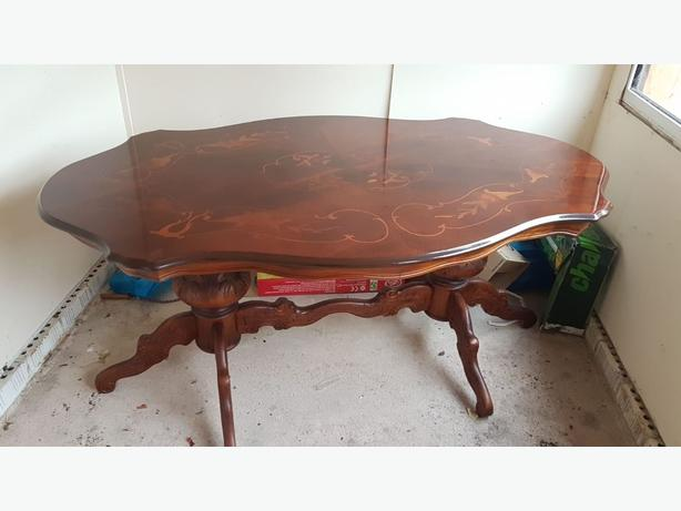 Italian style table and 4 chairs