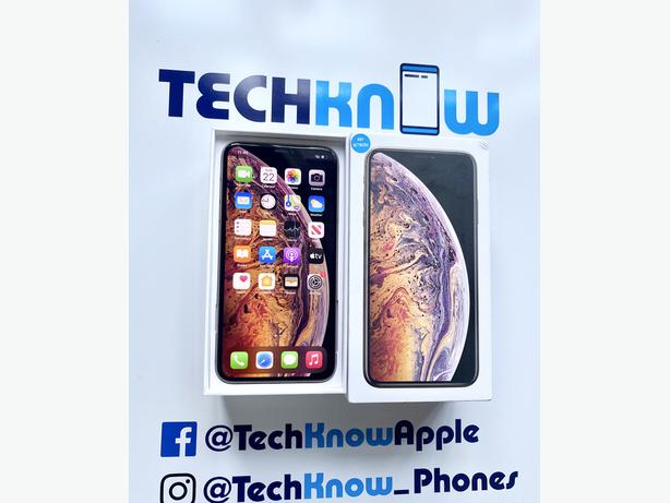 Iphone XS max 64Gb unlocked to all networks - Gold Boxed - £399.99