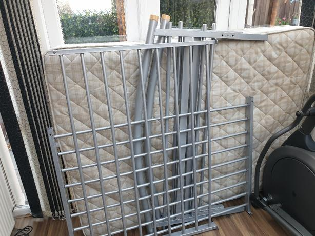 FREE: double bed and matress