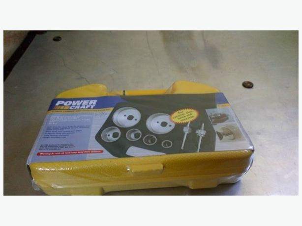 Power Craft  Grit edged holesaw set