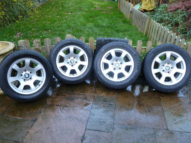 BMW 5 SERIES WHEELS AND WINTER TYRES