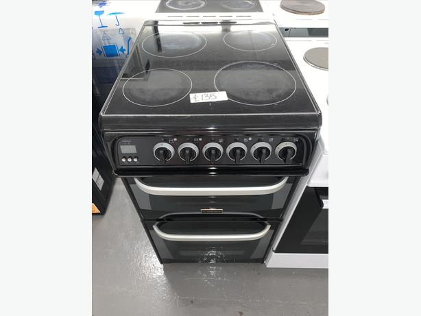 PLANET APPLIANCE - CANNON ELECTRIC COOKER BLACK