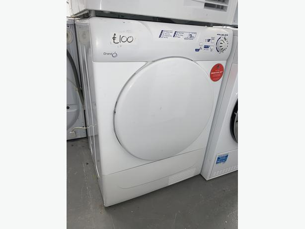 PLANET APPLIANCE - 9KG CANDY CONDENSER DRYER WHITE