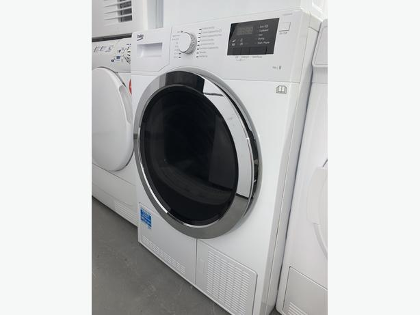 PLANET APPLIANCE - 8KG BEKO WASHER WASHING MACHINE IN WHITE