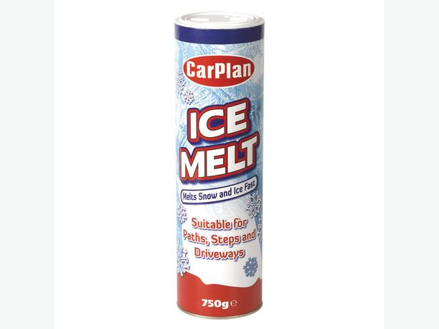 Car Plan Ice Melt 750g Melts Snow & Ice Fast for Paths Steps Driveways