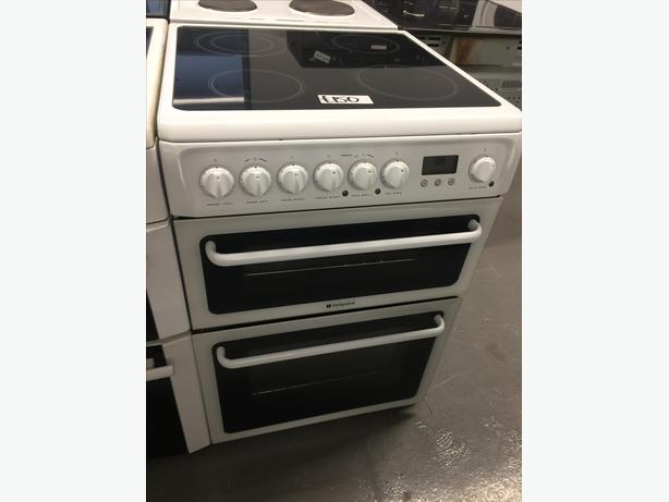 ❄️❄️ HOTPOINT 60CM ELECTRIC COOKER IN WHITE ❄️❄️