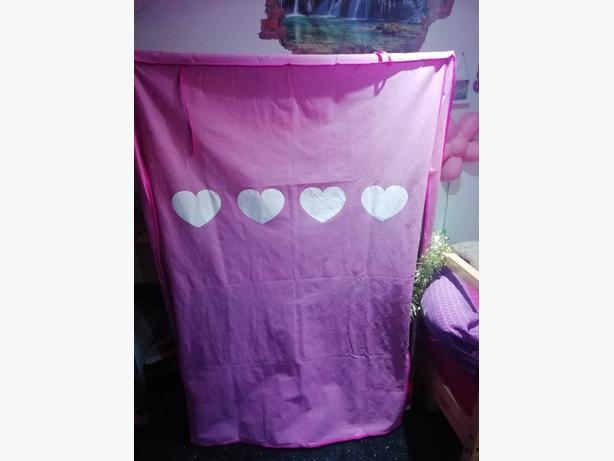 "Baby pink fabric ""wardrobe"""