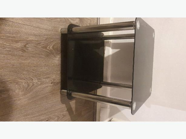 black glass table for sale