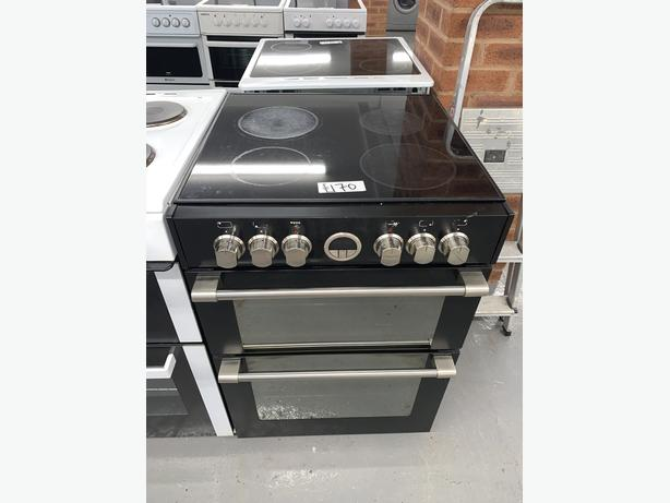 PLANET APPLIANCE - 60CM STOVES ELECTRIC COOKER BLACK