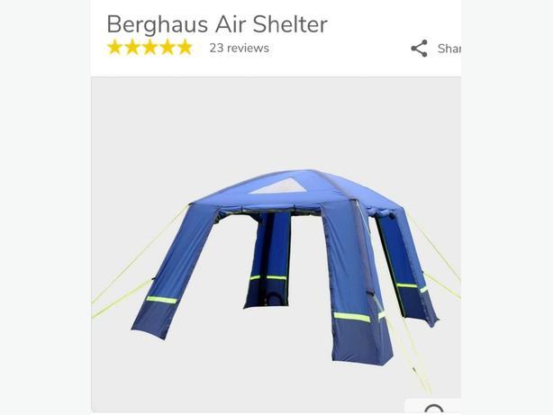 berghaus air shelter