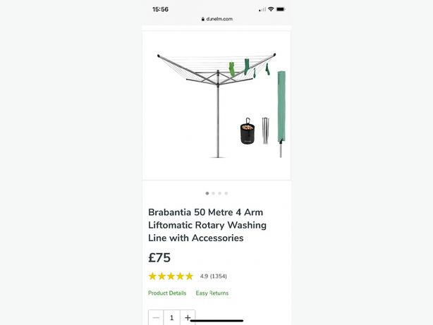 brabantia clothes line