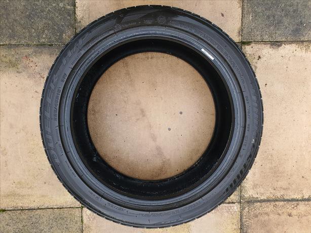 Bridgestone Runflat part worn tyre – 225/45/R18 91V
