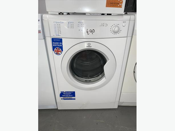 PLANET APPLIANCE - 7KG INDESIT VENTED DRYER IN WHITE