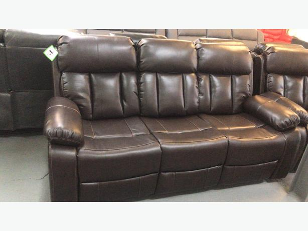 3+2 vancouver recliner sets only £799.99 brown only left