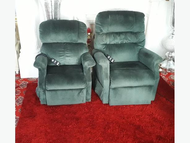 Matching Electric Chairs  (His & Her)