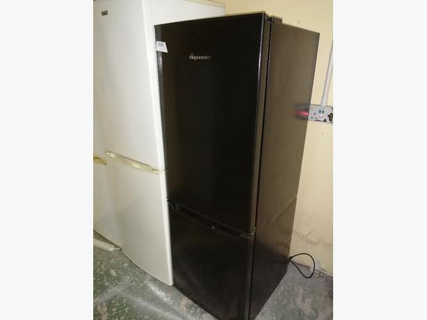Fridgemaster Fridge freezer black with warranty at Recyk Appliances